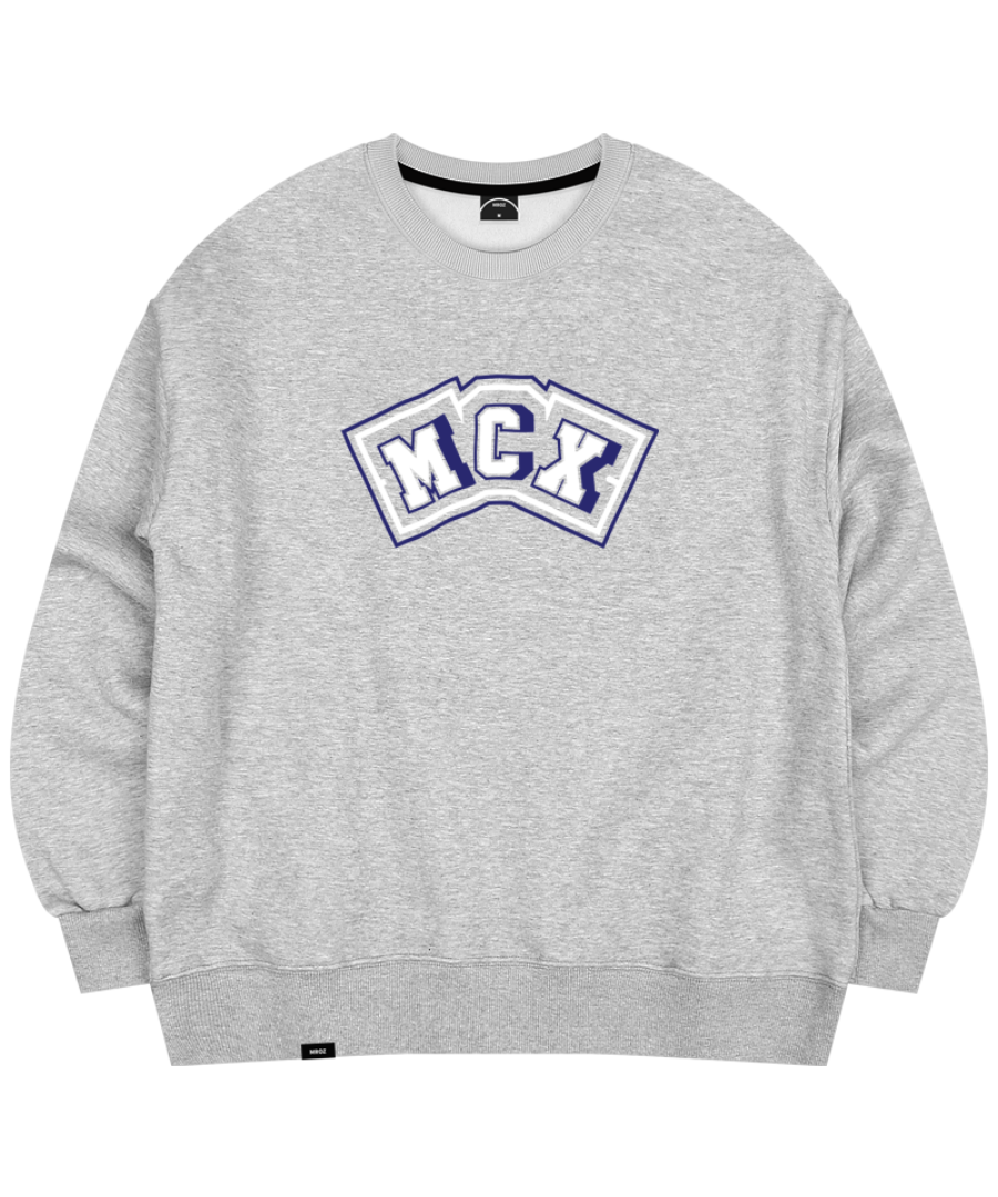 DECAL CREWNECK GRAY