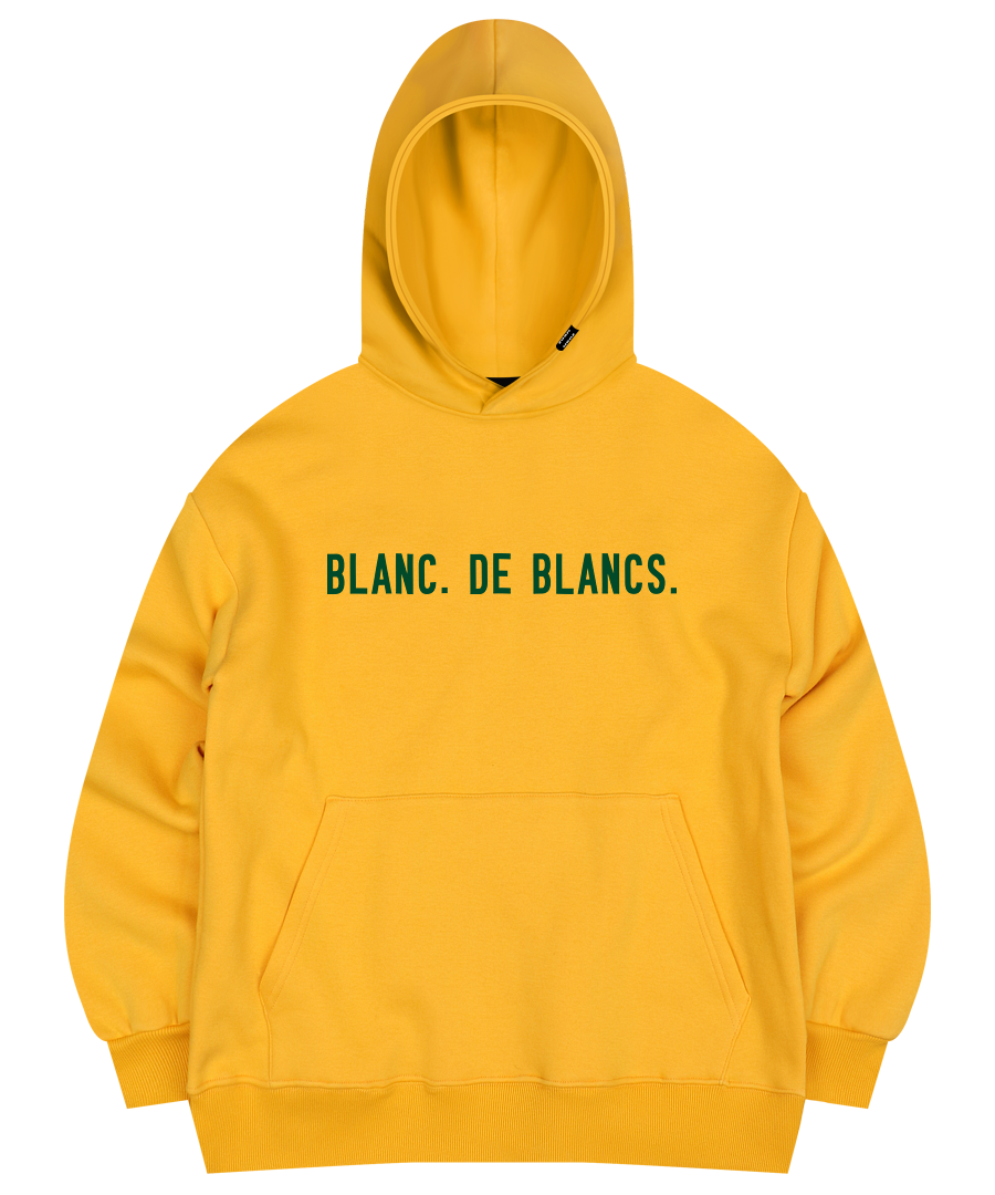 BLANC HOODED SWEAT SHIRT YELLOW