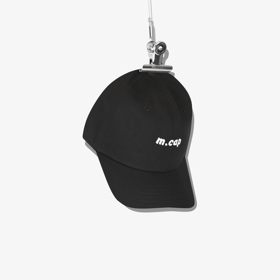 M Ball Cap Black