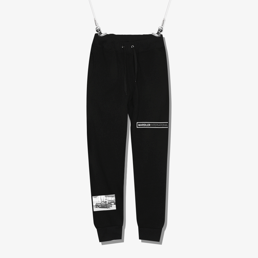 BAND SWEATPANT Black