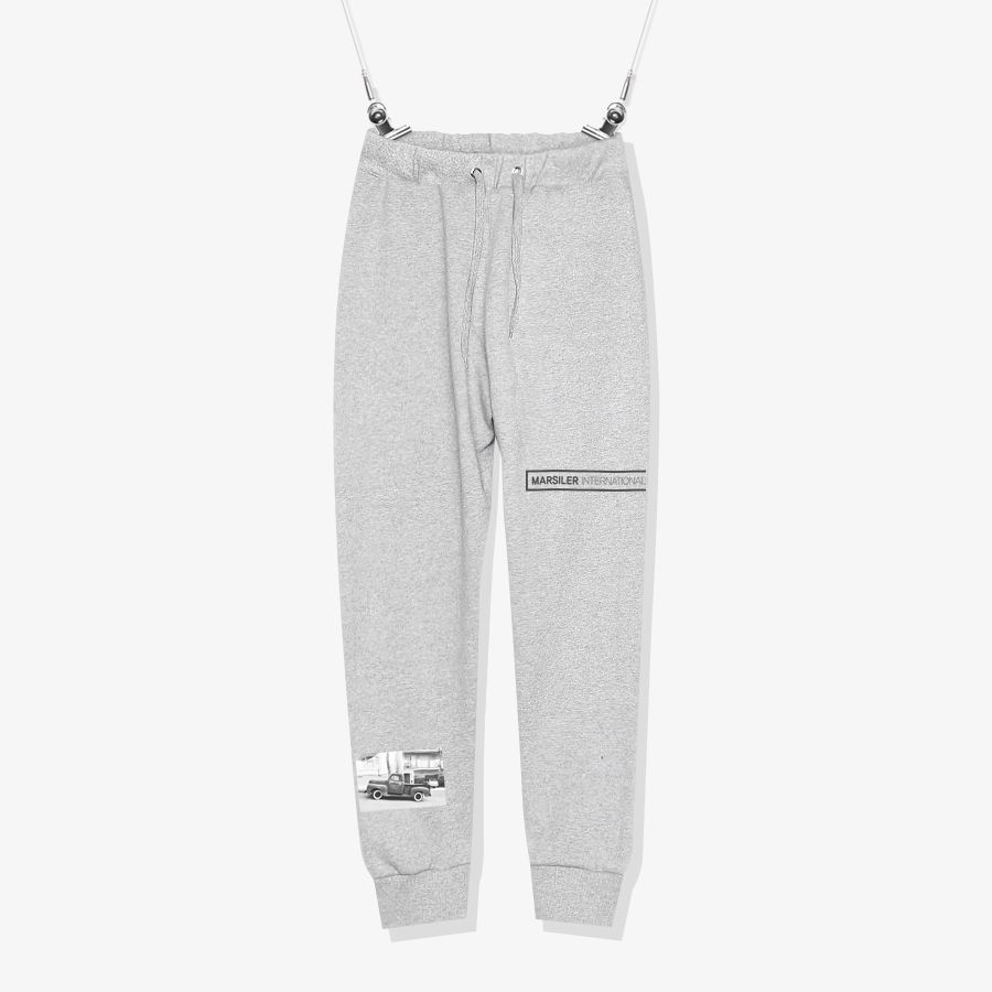 BAND SWEATPANT Gray