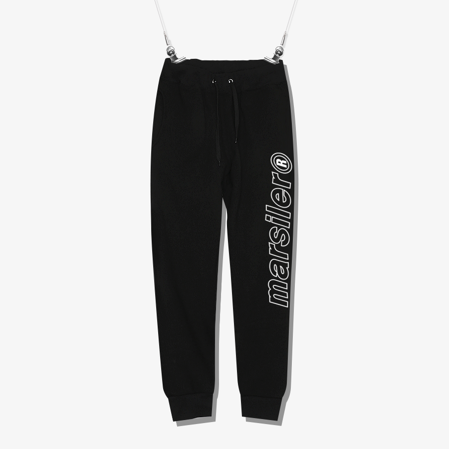 OUTLINE SWEATPANT Black
