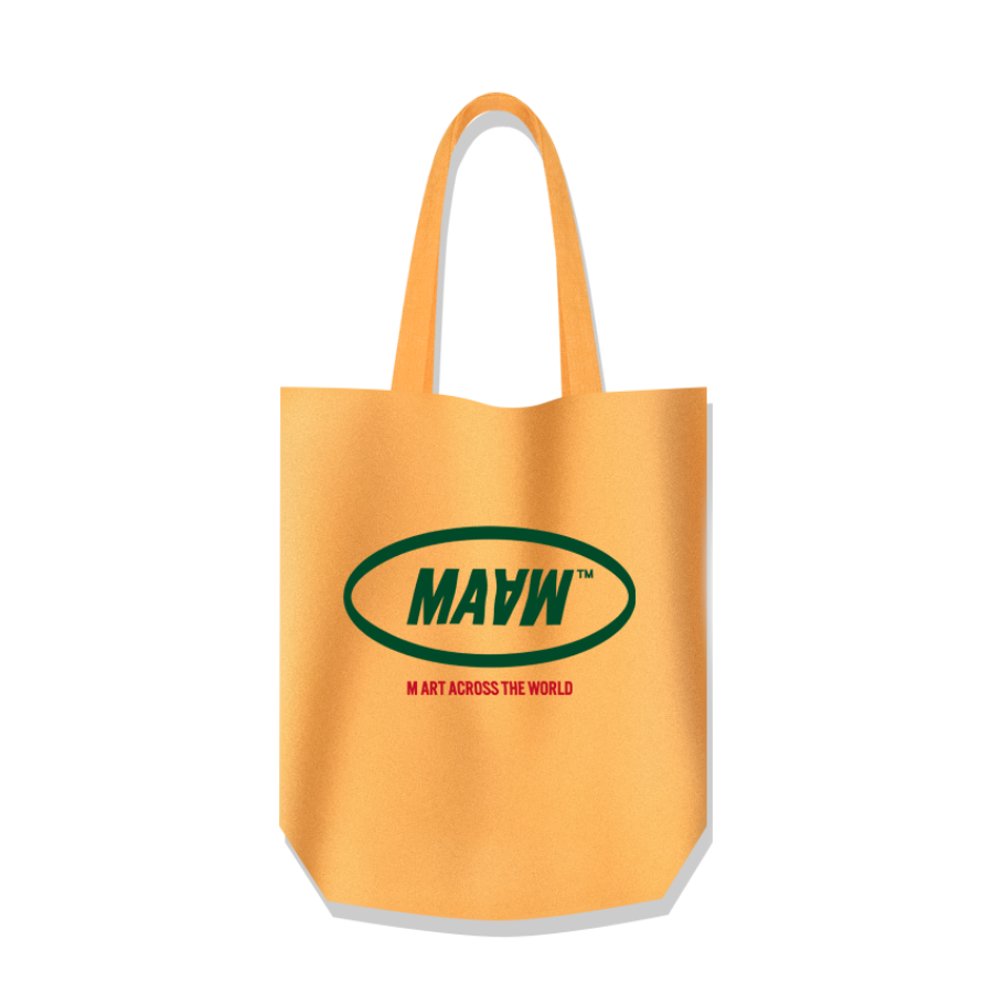 MAAW Cotton Bag Yellow