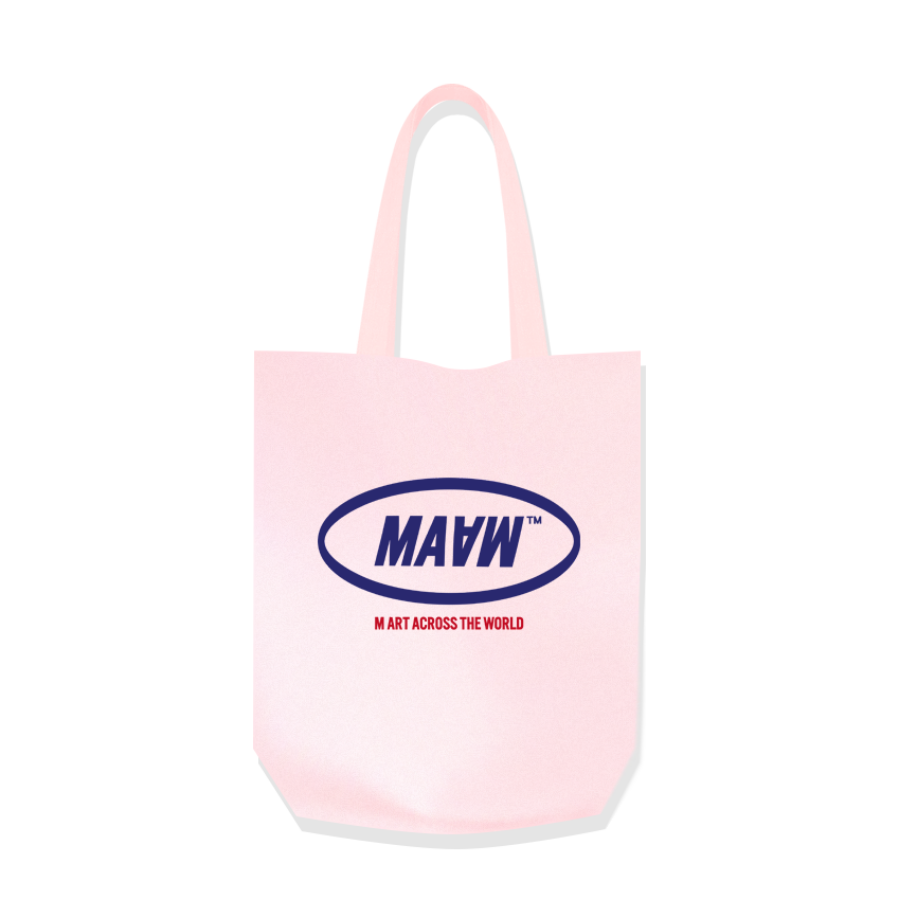 MAAW Cotton Bag Pink
