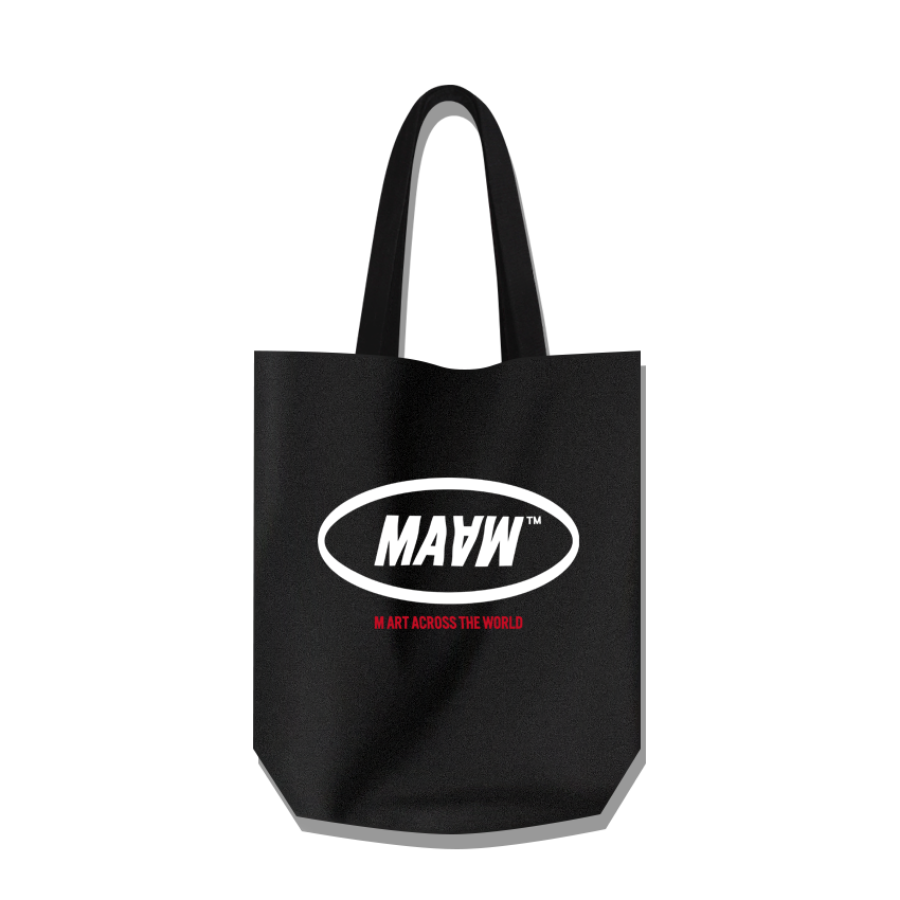 MAAW Cotton Bag Black