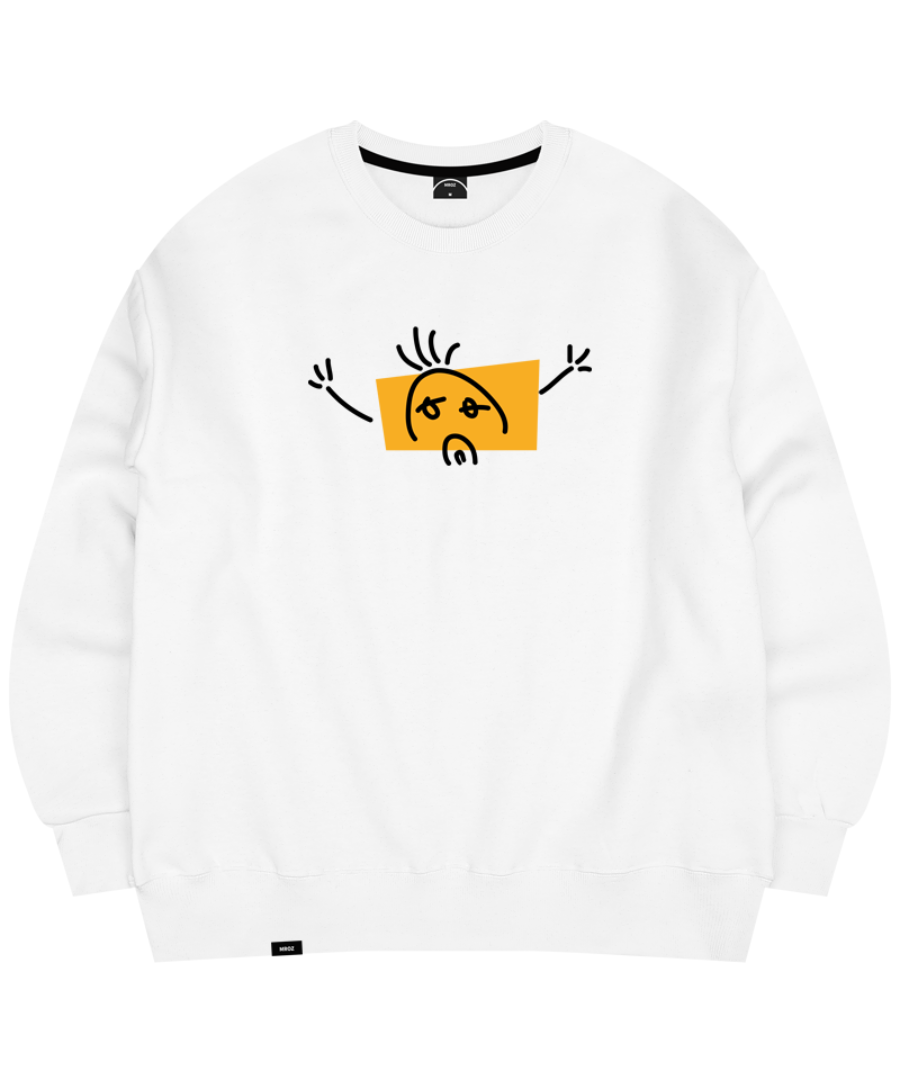 LONELY CREWNECK WHITE