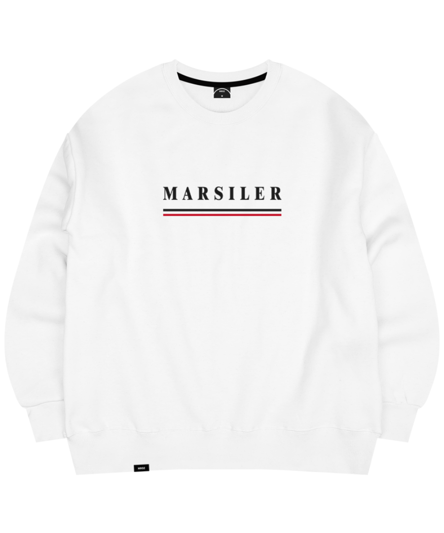 TIDY CREWNECK WHITE