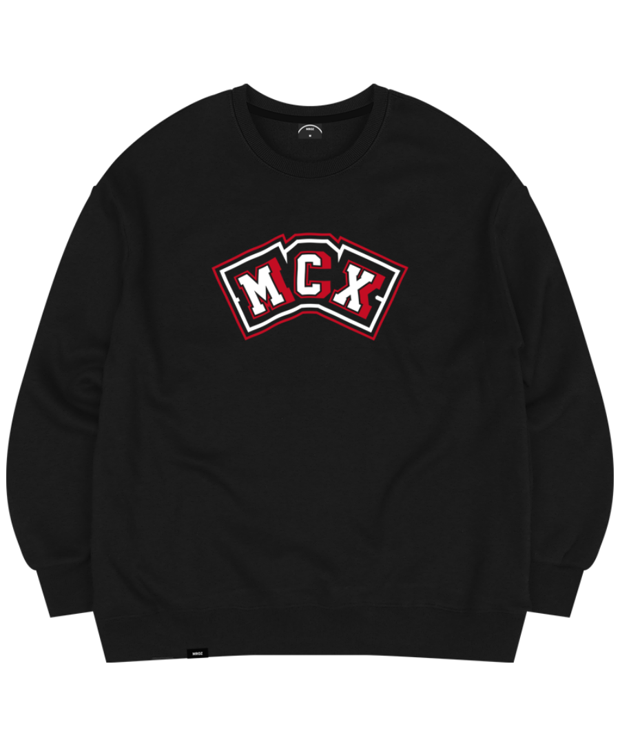 DECAL CREWNECK BLACK