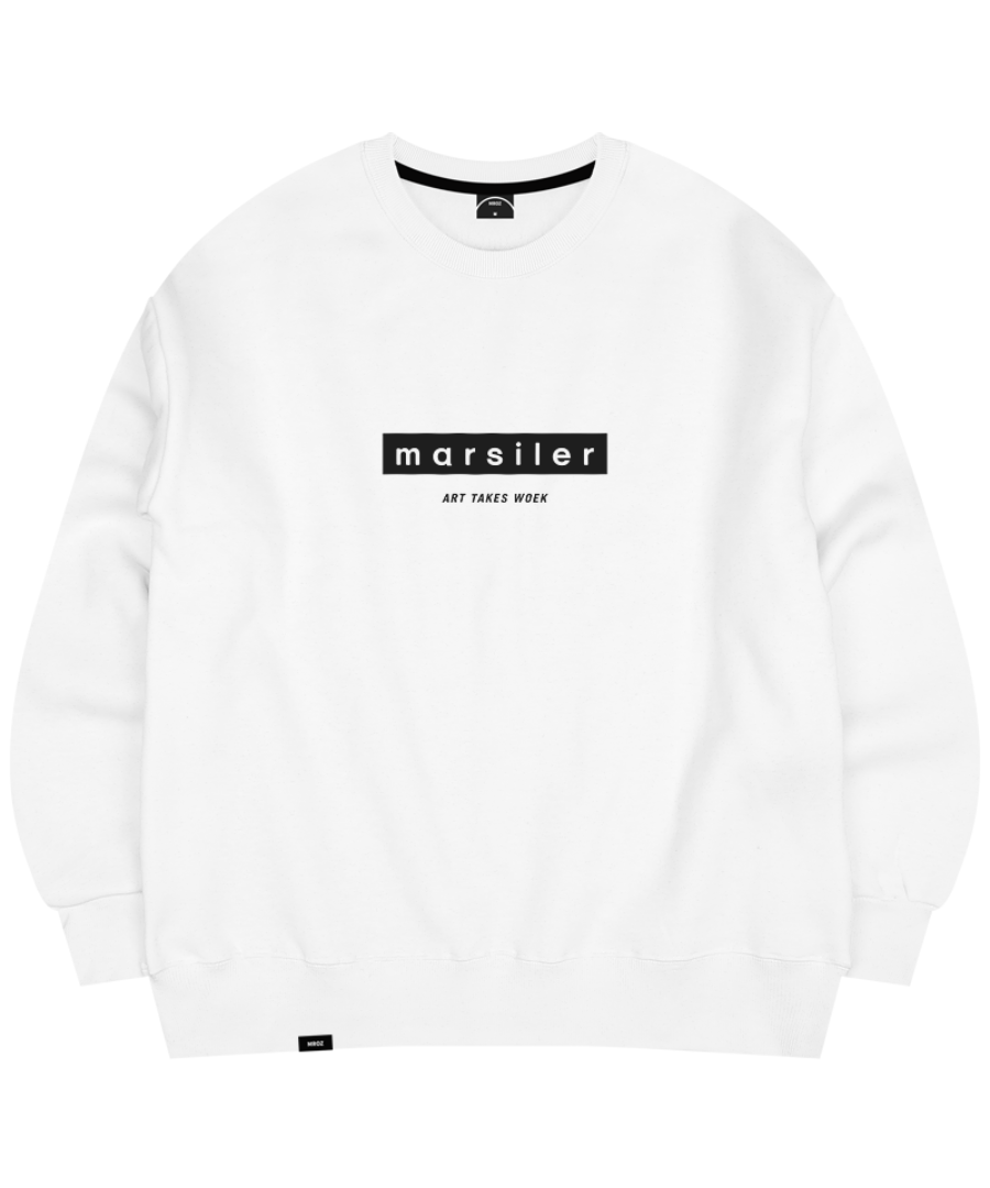 BASIC CREWNECK WHITE