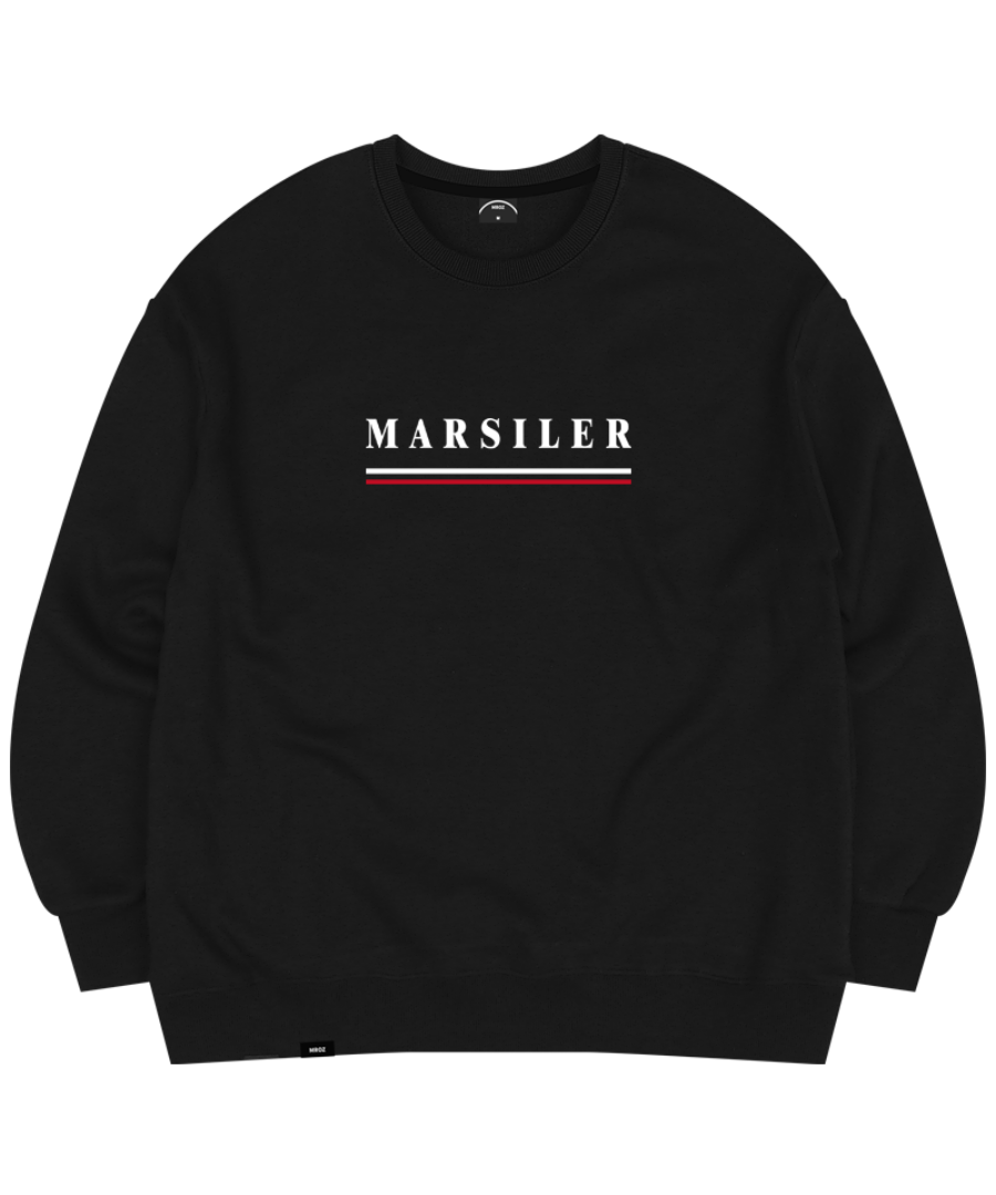TIDY CREWNECK BLACK