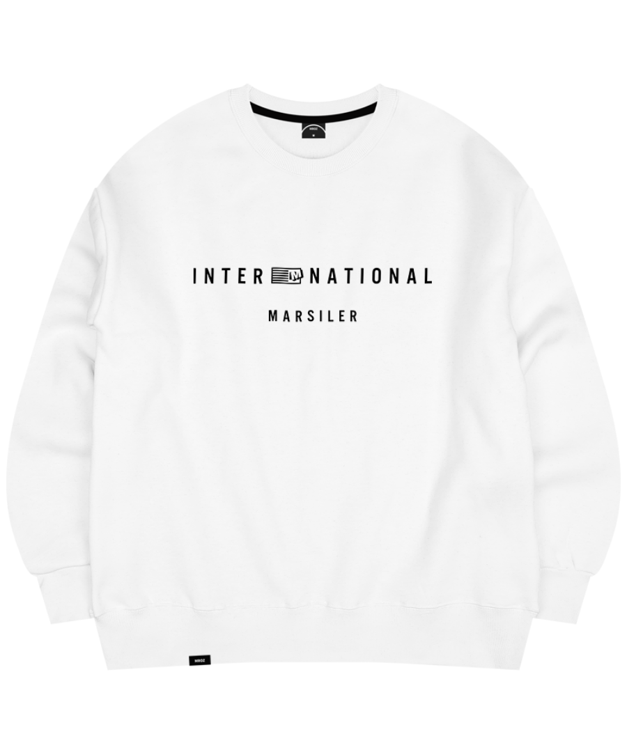 TRUMP CREWNECK WHITE