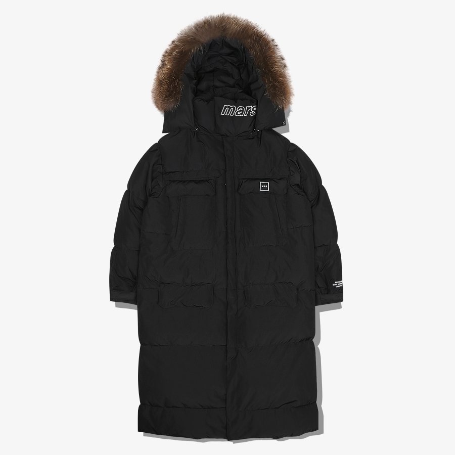 UPPER -17°C OVER PARKA Black
