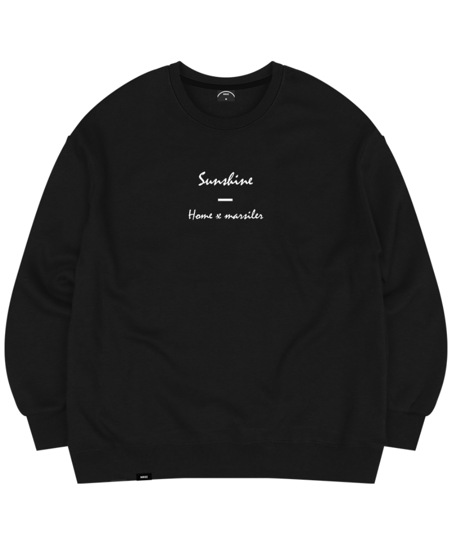 SUNSHINE CREWNECK BLACK