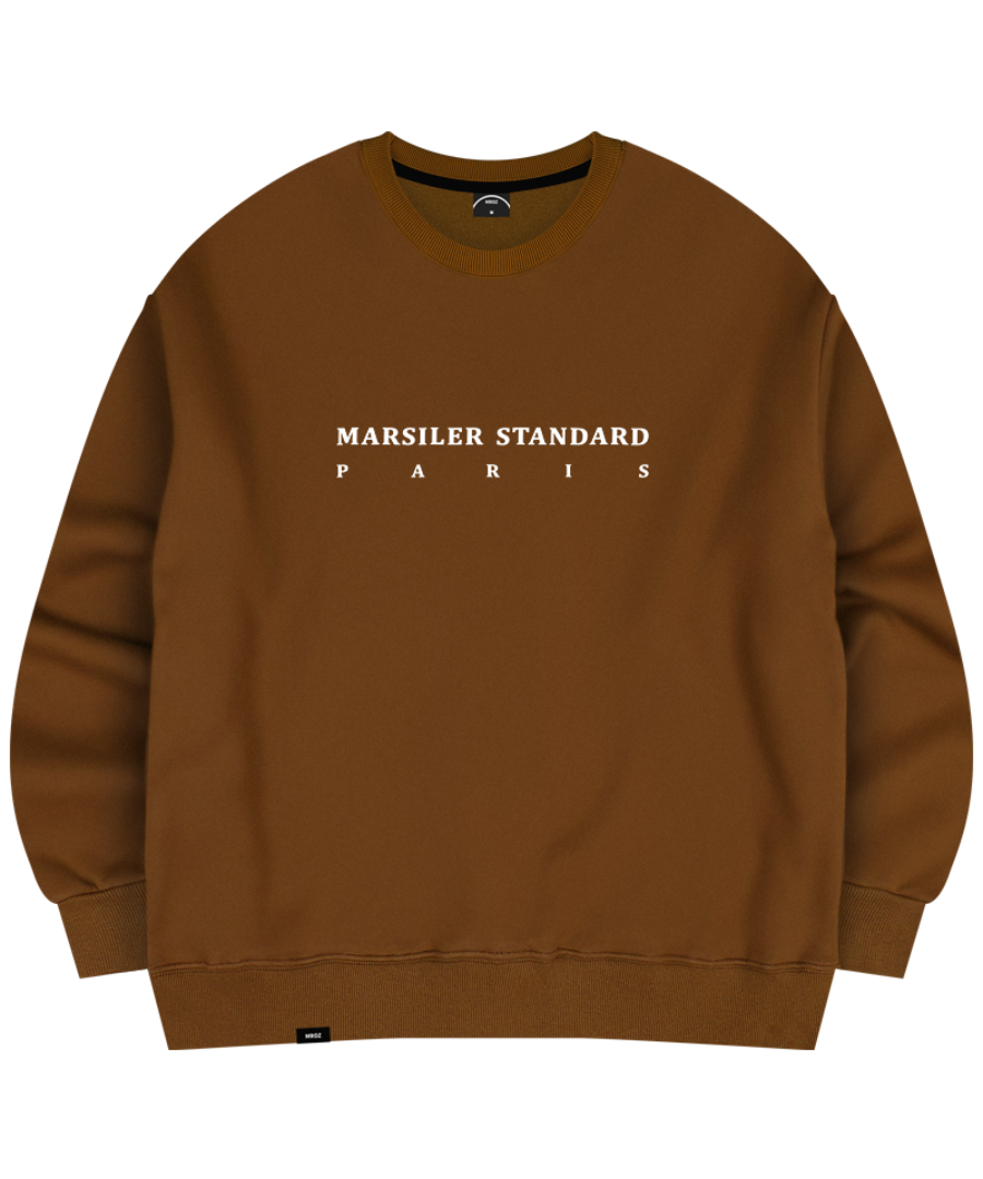 FRANC CREWNECK BROWN