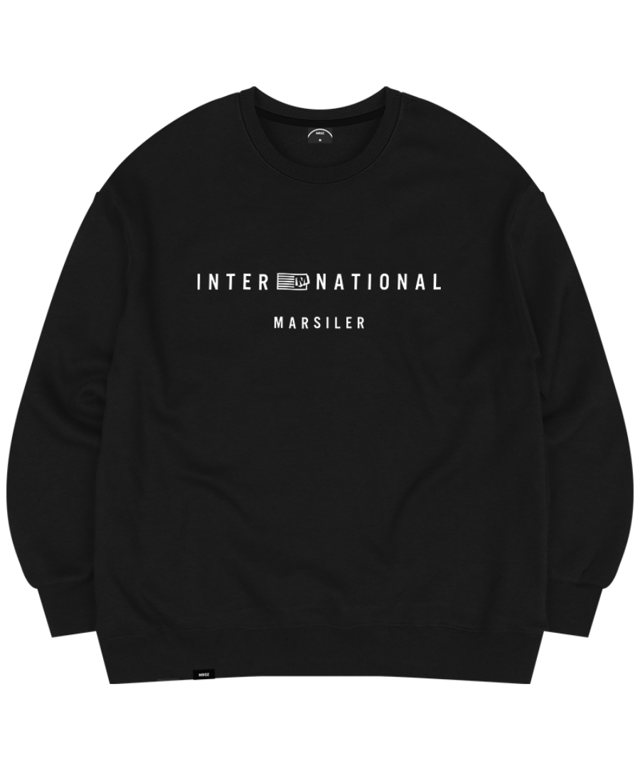 TRUMP CREWNECK BLACK