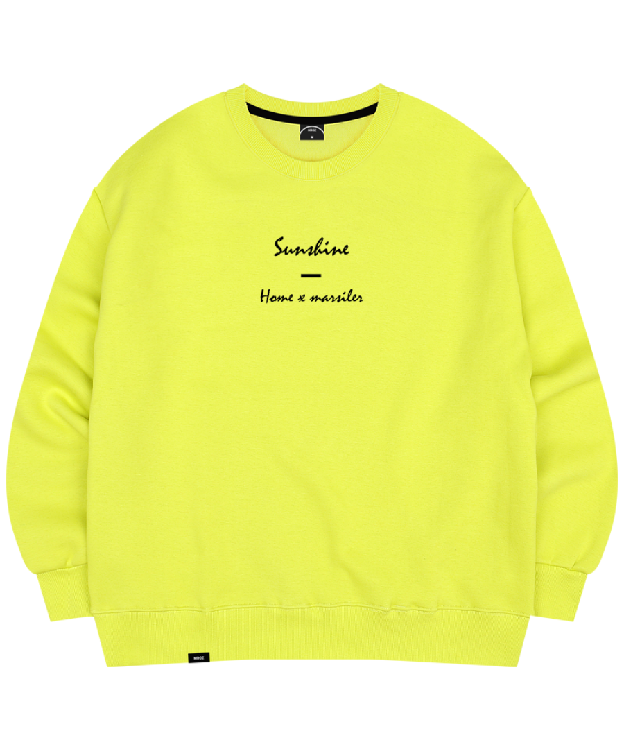 SUNSHINE CREWNECK LIME