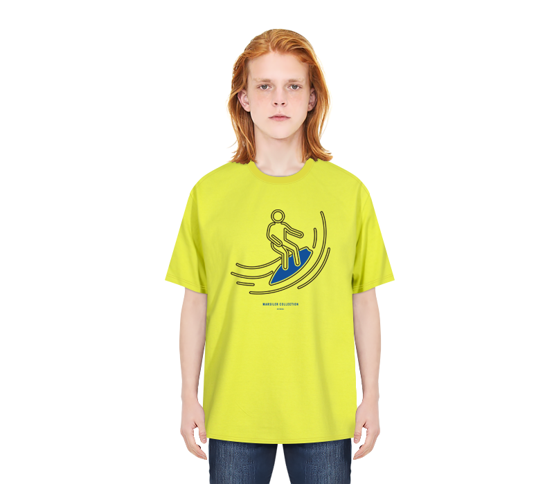 SURFER TEE LGREEN