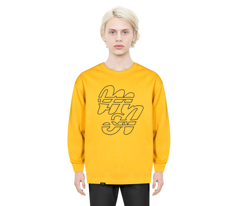 MALINE CREWNECK YELLOW