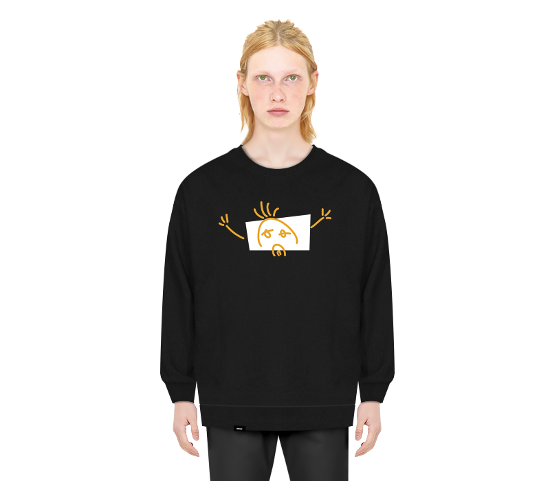 LONELY CREWNECK BLACK