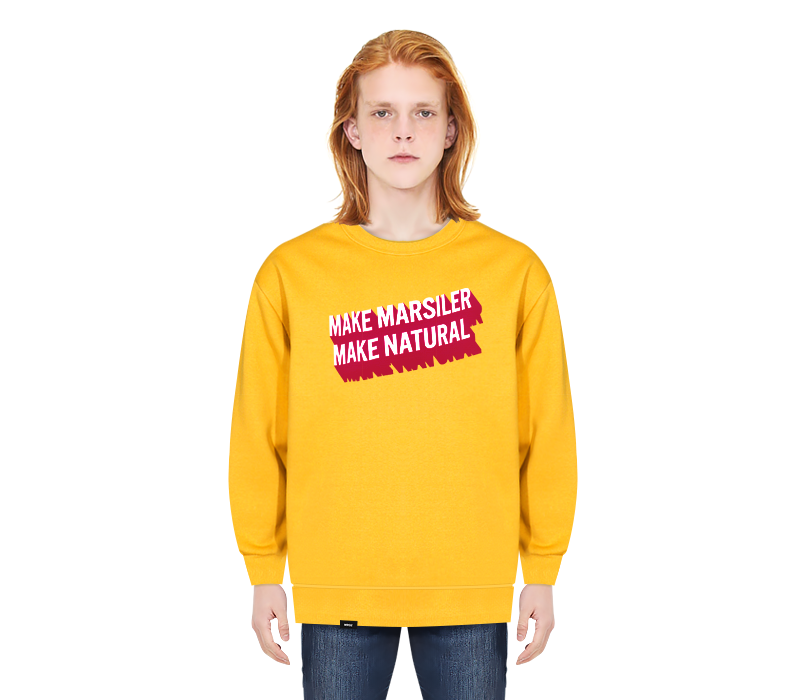 NATURAL CREWNECK YELLOW
