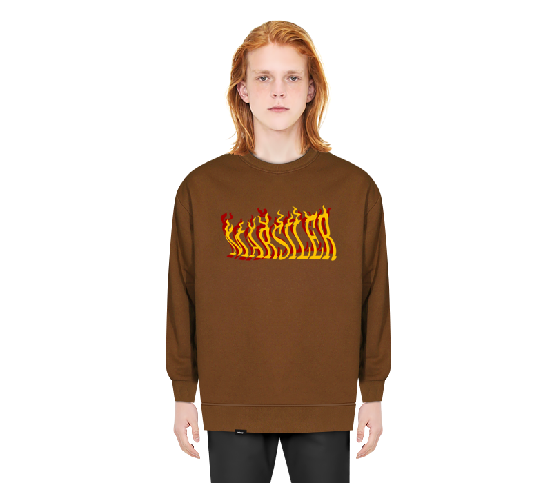 JJIN CREWNECK BROWN
