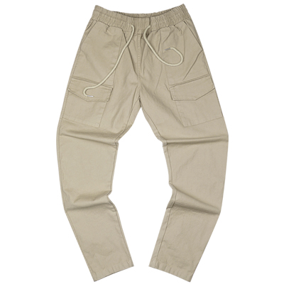 COTTON PANTS Beige